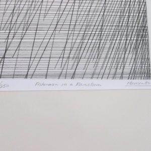 Art Hansen – Fisherman in a Rainstorm, 1984
