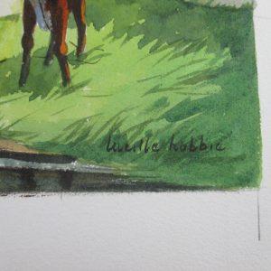 Lucille Hobbie – Untitled (Farm Scene)