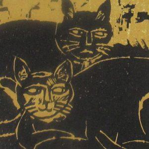 Kyohei Inukai – Cats, c.1980
