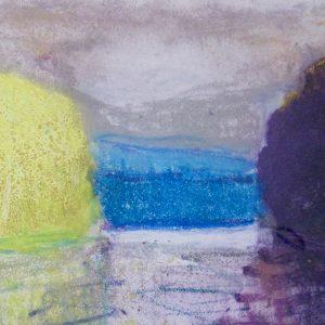 Wolf Kahn – Untitled, 1991