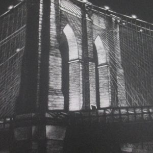 Frederick Mershimer – Brooklyn Bridge, 1985