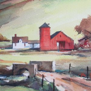 John Cuthbert Hare – Untitled (Rural Scene)
