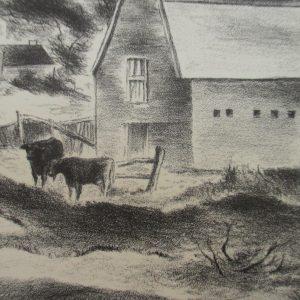 Julian Levi – Road to Provincetown, c.1935