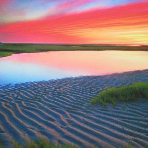 Matt Suess – Sunset at Paine's Creek, Cape Cod, MA