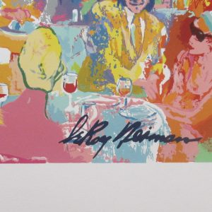 LeRoy Neiman – Tavern on the Green, 1998